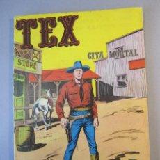 Cómics: TEX (1970, BURU LAN) 11 · 1971 · CITA MORTAL. Lote 155432010