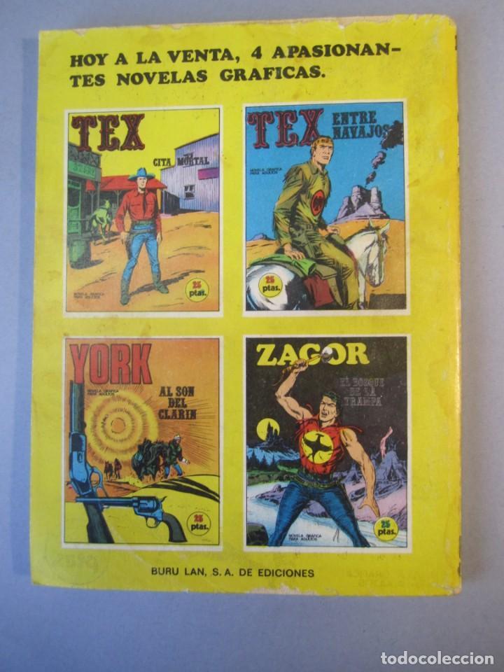Cómics: TEX (1970, BURU LAN) 11 · 1971 · CITA MORTAL - Foto 2 - 155432010