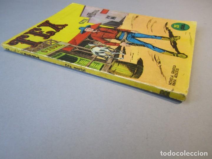 Cómics: TEX (1970, BURU LAN) 11 · 1971 · CITA MORTAL - Foto 3 - 155432010
