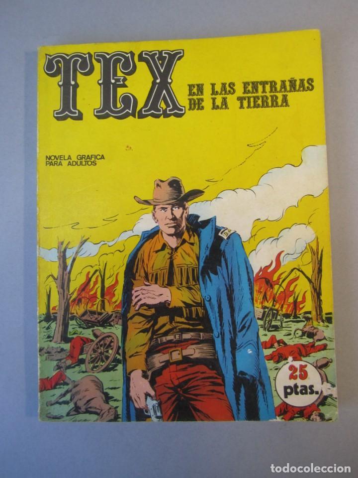 TEX (1970, BURU LAN) 10 · 1971 · EN LAS ENTRAÑAS DE LA TIERRA (Tebeos y Comics - Buru-Lan - Tex)