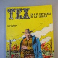Cómics: TEX (1970, BURU LAN) 10 · 1971 · EN LAS ENTRAÑAS DE LA TIERRA. Lote 155432090