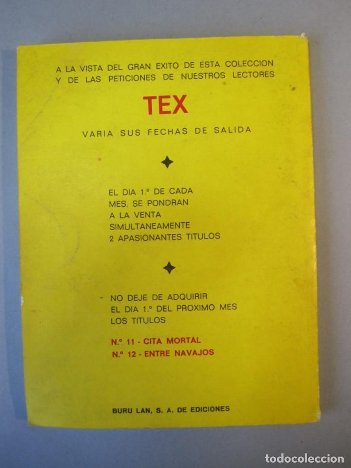 Cómics: TEX (1970, BURU LAN) 10 · 1971 · EN LAS ENTRAÑAS DE LA TIERRA - Foto 2 - 155432090