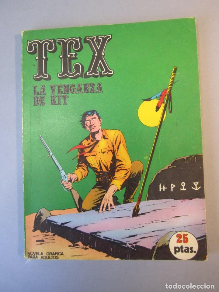 TEX (1970, BURU LAN) 9 · 1971 · LA VENGANZA DE KIT (Tebeos y Comics - Buru-Lan - Tex)