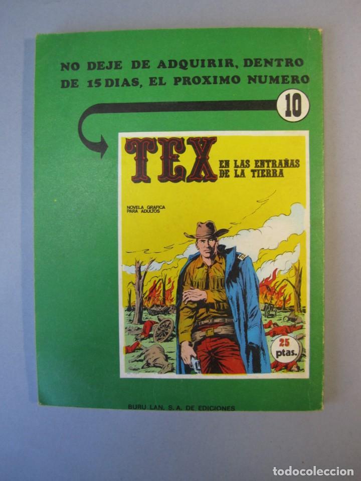 Cómics: TEX (1970, BURU LAN) 9 · 1971 · LA VENGANZA DE KIT - Foto 2 - 155432202
