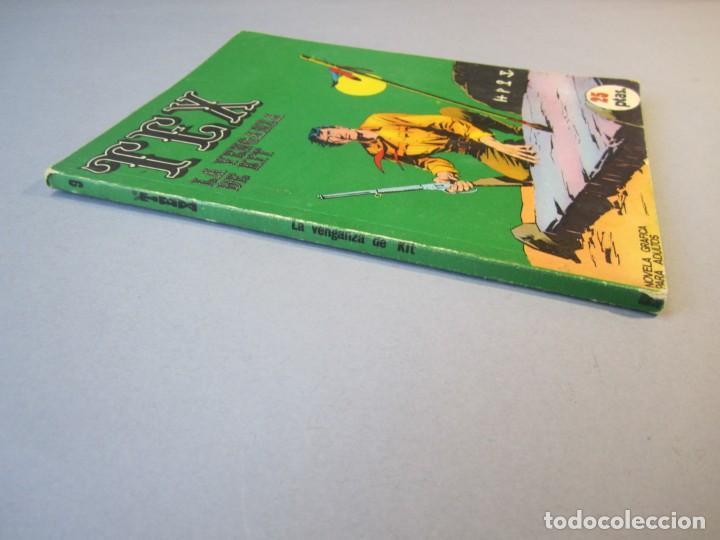 Cómics: TEX (1970, BURU LAN) 9 · 1971 · LA VENGANZA DE KIT - Foto 3 - 155432202