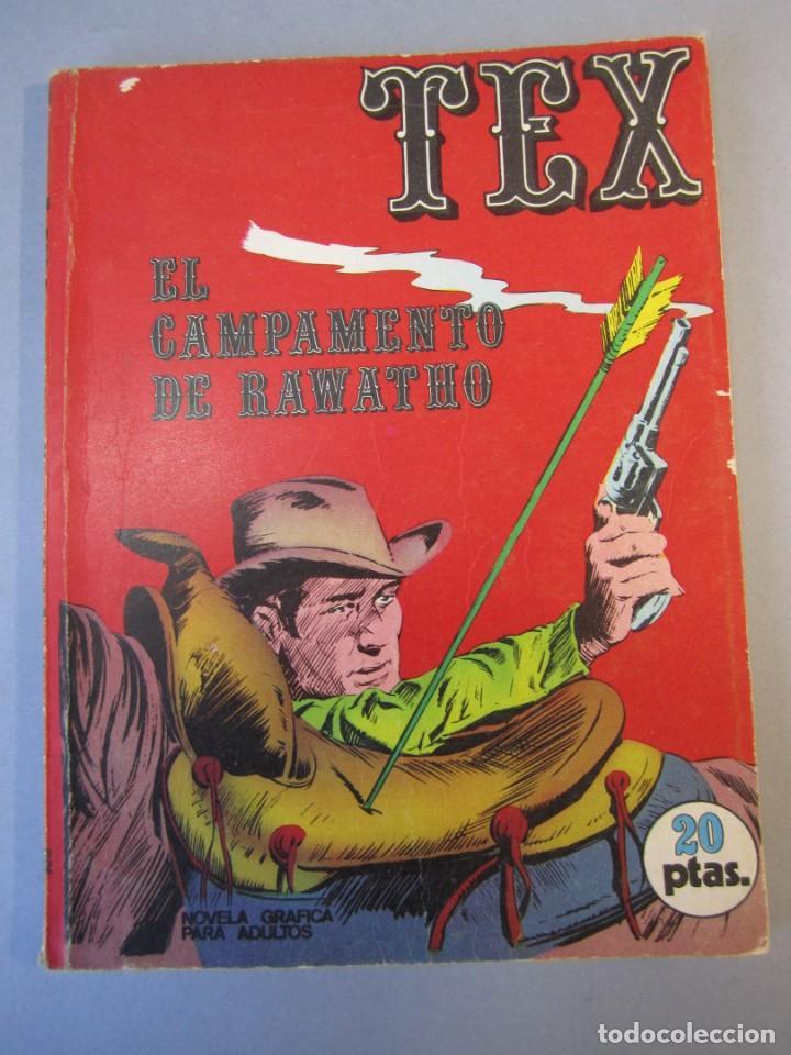 TEX (1970, BURU LAN) 8 · 1971 · EL CAMPAMENTO DE RAWATHO (Tebeos y Comics - Buru-Lan - Tex)