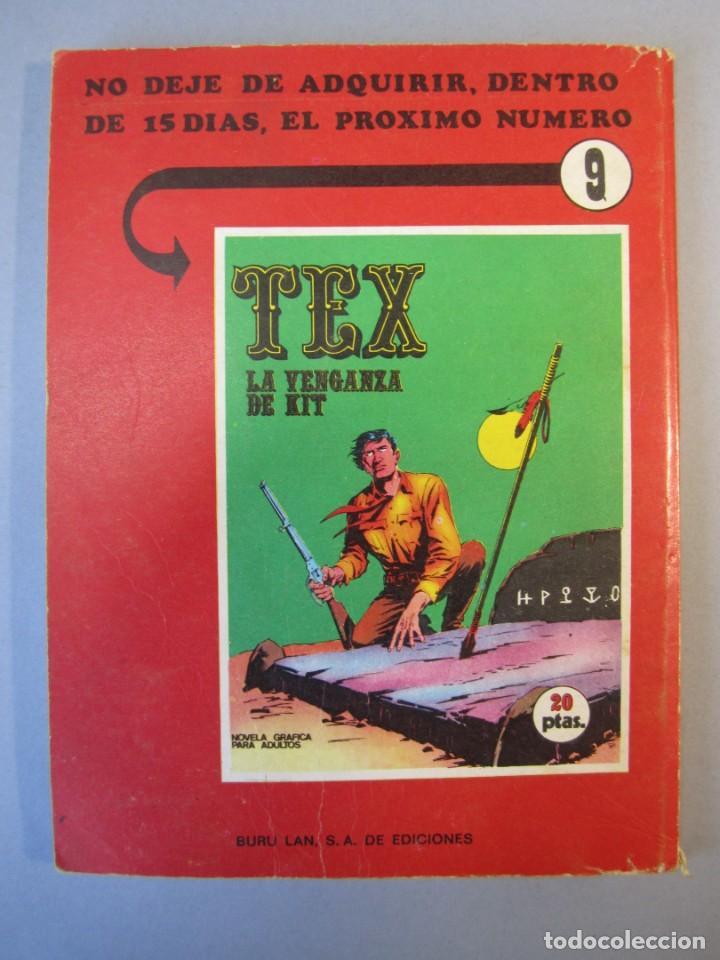 Cómics: TEX (1970, BURU LAN) 8 · 1971 · EL CAMPAMENTO DE RAWATHO - Foto 2 - 155432334