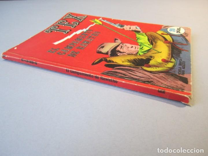 Cómics: TEX (1970, BURU LAN) 8 · 1971 · EL CAMPAMENTO DE RAWATHO - Foto 3 - 155432334