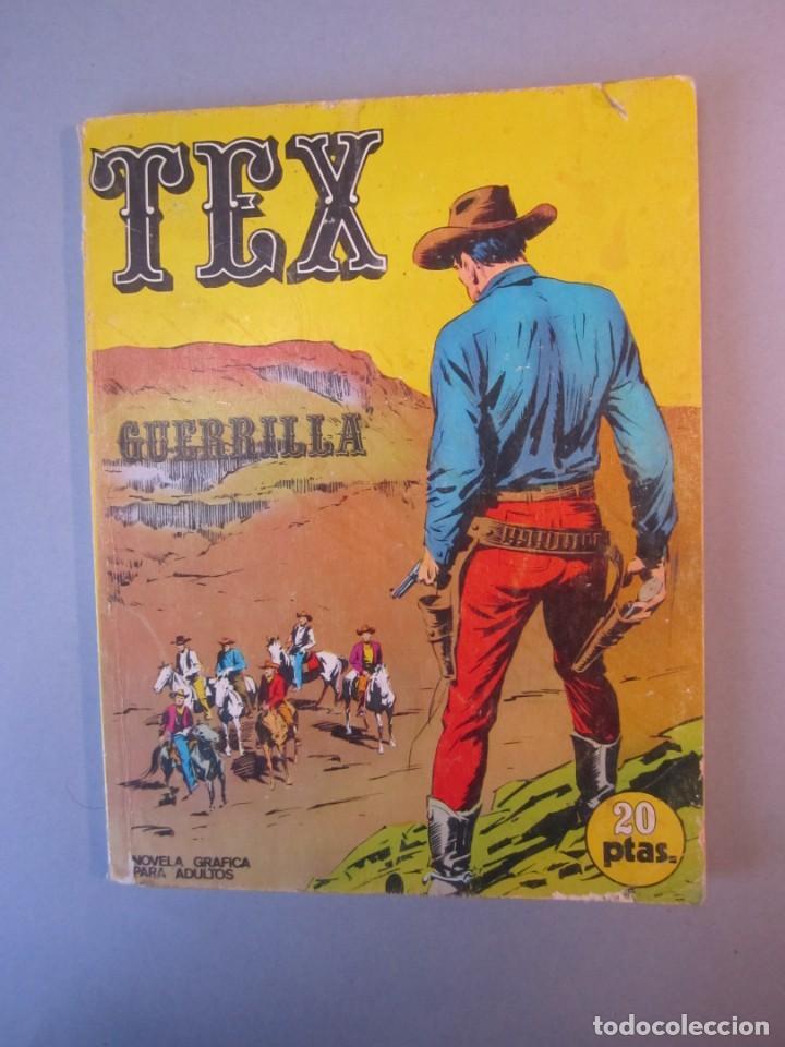 TEX (1970, BURU LAN) 6 · 1971 · GUERRILLA (Tebeos y Comics - Buru-Lan - Tex)
