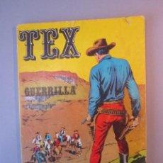 Cómics: TEX (1970, BURU LAN) 6 · 1971 · GUERRILLA. Lote 155432514