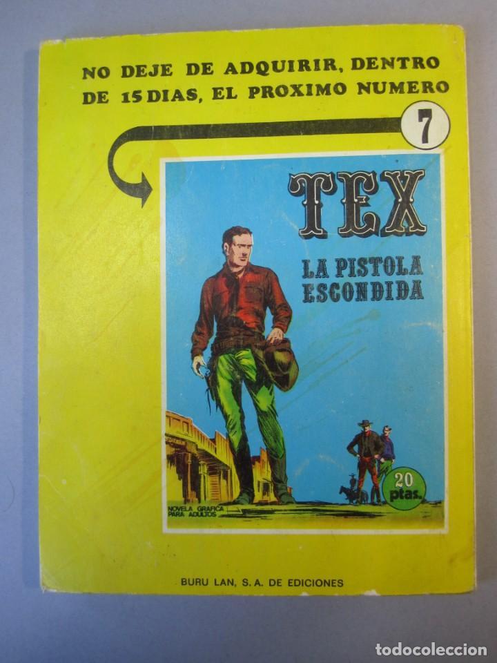 Cómics: TEX (1970, BURU LAN) 6 · 1971 · GUERRILLA - Foto 2 - 155432514