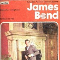 Cómics: AGENTES SECRETOS BURU LAN. JAMES BOND Nº 2. SOMBRAS DE ORO. (120 PP.) 1974.. Lote 155500462