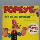 Cómics: POPEYE, REY DE LAS ESPINACAS. Nº 1. 1979. Lote 155556930