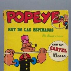 Fumetti: POPEYE, REY DE LAS ESPINACAS. Nº 1. 1979. Lote 155556930