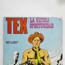 Cómics: TEX Nº 21, LA ULTIMA OPORTUNIDAD, EDICIONES BURU LAN 1971. Lote 155588294