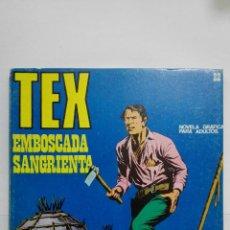Cómics: TEX Nº 22, EMBOSCADA SANGRIENTA, EDICIONES BURU LAN 1971. Lote 155588490