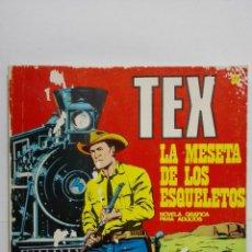 Cómics: TEX Nº 30, LA MESETA DE LOS ESQUELETOS, EDICIONES BURU LAN 1971. Lote 155589750