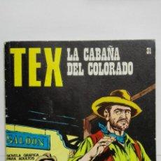 Cómics: TEX Nº 31, LA CABAÑA DEL COLORADO, EDICIONES BURU LAN 1971. Lote 155589942