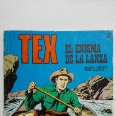 Cómics: TEX Nº 33, EL ENIGMA DE LA LANZA, EDICIONES BURU LAN 1971. Lote 155590530