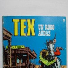 Cómics: TEX Nº 34, UN ROBO AUDAZ, EDICIONES BURU LAN 1971. Lote 155590662