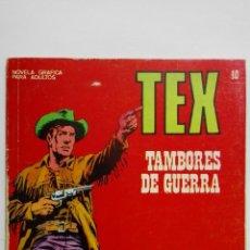 Cómics: TEX Nº 40, TAMBORES DE GUERRA, EDICIONES BURU LAN 1972. Lote 155591442