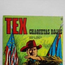 Cómics: TEX Nº 42, CHAQUETAS ROJAS, EDICIONES BURU LAN 1972. Lote 155591682