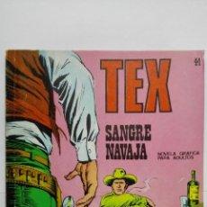 Cómics: TEX Nº 44, SANGRE NAVAJA, EDICIONES BURU LAN 1972. Lote 155591918