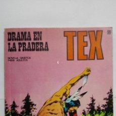 Cómics: TEX Nº 50, DRAMA EN LA PRADERA, EDICIONES BURU LAN 1972. Lote 155592878