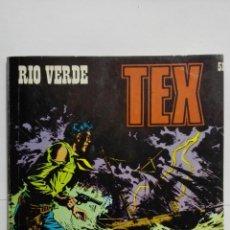 Cómics: TEX Nº 51, RIO VERDE, EDICIONES BURU LAN 1972. Lote 155593090