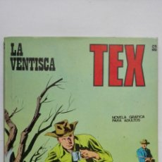Cómics: TEX Nº 52, LA VENTISCA, EDICIONES BURU LAN 1972. Lote 155593202