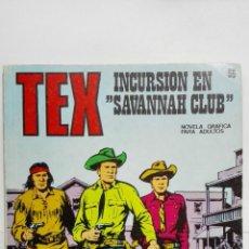 Cómics: TEX Nº 56, INCURSION EN SAVANNAH CLUB, EDICIONES BURU LAN 1972. Lote 155593750