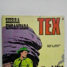Cómics: TEX Nº 57, SIERRA ENCANTADA, EDICIONES BURU LAN 1972. Lote 155593890