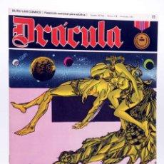 Cómics: DRÁCULA 11. CÉLULAS INTELIGENTES (ESTEBAN MAROTO) BURULAN BURU LAN, 1970. Lote 155653658