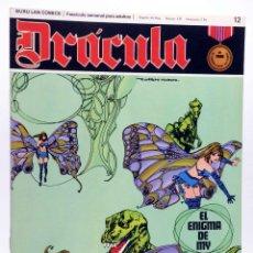 Cómics: DRÁCULA 12. EL ENIGMA DE MY (ESTEBAN MAROTO) BURULAN BURU LAN, 1970. Lote 155653662