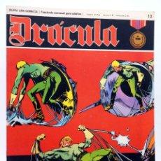 Cómics: DRÁCULA 13. LA FUERZA MAGNÉTICA (ESTEBAN MAROTO) BURULAN BURU LAN, 1970. Lote 155653666