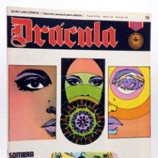 Cómics: DRÁCULA 16. SOMBRA VIVA (ESTEBAN MAROTO) BURULAN BURU LAN, 1970. Lote 155653670