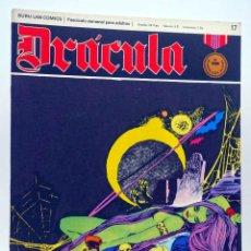 Cómics: DRÁCULA 17. LOS NO MUERTOS (ESTEBAN MAROTO) BURULAN BURU LAN, 1970. Lote 155653674