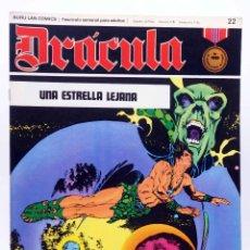 Cómics: DRÁCULA 22. UNA ESTRELLA LEJANA (ESTEBAN MAROTO) BURULAN BURU LAN, 1970. Lote 155653678