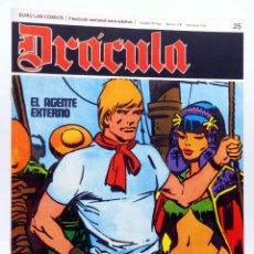 Cómics: DRÁCULA 25. EL AGENTE EXTERNO (ESTEBAN MAROTO) BURULAN BURU LAN, 1970. Lote 155653690