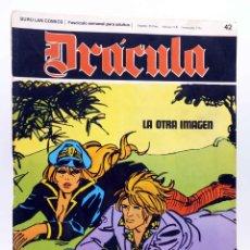 Cómics: DRÁCULA 42. LA OTRA IMAGEN (ESTEBAN MAROTO) BURULAN BURU LAN, 1970. Lote 155653702