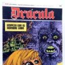 Cómics: DRÁCULA 44. EMPEZÓ CON EL HOMBRE LOBO (ESTEBAN MAROTO) BURULAN BURU LAN, 1970. Lote 155653710