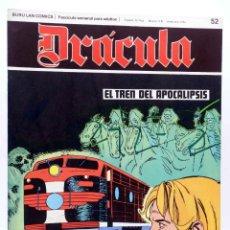 Cómics: DRÁCULA 52. EL TREN DEL APOCALIPSIS (ESTEBAN MAROTO) BURULAN BURU LAN, 1970. Lote 155653730