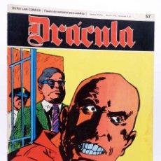 Cómics: DRÁCULA 57. EL SINDICATO DE LOS RESUCITADOS (ESTEBAN MAROTO) BURULAN BURU LAN, 1970. Lote 155653742