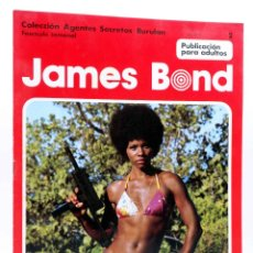 Cómics: COLECCIÓN AGENTES SECRETOS. JAMES BOND FASCÍCULO 2 (IAN FLEMING / HORAK) BURU LAN, 1974. Lote 155653758