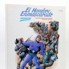 Cómics: EL HOMBRE ENMASCARADO 2. INVASIÓN (RAY MOORE / LEE FALK) BURULAN BURU LAN, 1983. Lote 155653794