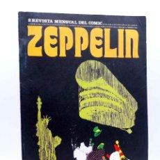 Cómics: ZEPPELIN, REVISTA MENSUAL DEL COMIC 2. (VVAA) BURULAN BURU LAN, 1973. Lote 155653806