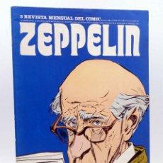 Cómics: ZEPPELIN, REVISTA MENSUAL DEL COMIC 3. (VVAA) BURULAN BURU LAN, 1973. Lote 155653810