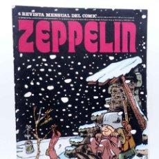 Cómics: ZEPPELIN, REVISTA MENSUAL DEL COMIC 4. (VVAA) BURULAN BURU LAN, 1973. Lote 155653818