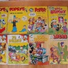 Cómics: COMIC VARIADOS-9 UNIDADES--POPEYE,PATO DONALD,BUNY,PATO LUCAS. Lote 155663982