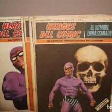 Cómics: 10 PRIMEROS NUMEROS DEL HOMBRE ENMASCARADO BURU LAN AÑO 1971 BUEN ESTADO,BARATOS. Lote 155682358